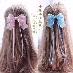 Fast And Easy Projects - How to Make Hair Clips? Ribbon Hair Clips, Diy Hair Bows, Diy Bow, Ribbon Bows, Ribbons, Headband Hairstyles, Diy Hairstyles, Twist Headband, Making Hair Bows
