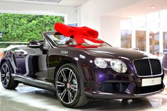 #Bentley Continental GTC V8 @ our Winter Wonderland event