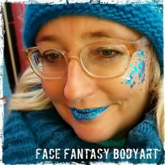 Glitterlook by Face Fantasy BodyArt. Great for party or festival.