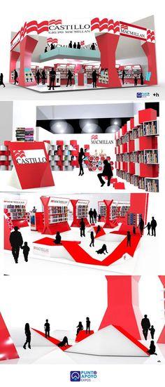 Exhibition Stands - PUNTO DE APOYO.  BOOK FAIR puntodeapoyo.com.mx