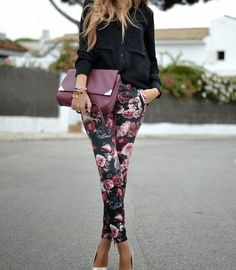 Floral friendly No More Boring Pants-- Here Are 20 Patterned Pants To Die For • Page 6 of 10 • BoredBug