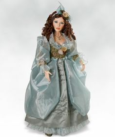 Amazon.com: Victorian Porcelain Doll, Michelle, 34 inch Collectible Doll (Artist: Pat Dezinski): Toys & Games
