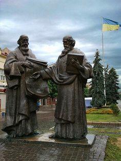 Споменик Ћирилу и Методију, Мукачево (Украјина)