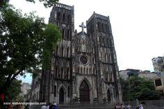 Catedral de San José, #Hanoi #Vietnam #Asia #church #cathedral #Catedral #catolicismo #catholicism