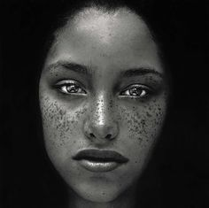 Amazing portrait by Irving Penn
