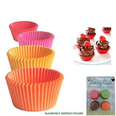 120 Mini Cupcake Liners Paper Baking Cups Cake Candy Cookie Muffin Bite Size New ** For more information, visit image link. (This is an affiliate link) #BakingCups