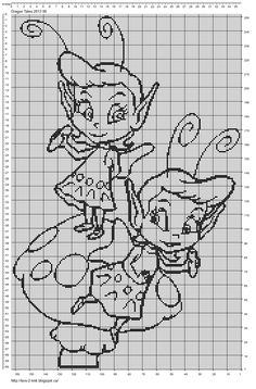 Luvs 2 Knit: Pattern By Luvs2knit The little faeries from Dragon Tales!!