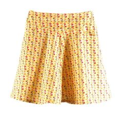 girls retro dressy cotton skirt with multicolor  foxes by OEPSIE, €45.00