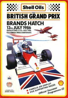 1986 Grand Prix UK