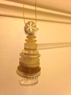 Lil button ornament