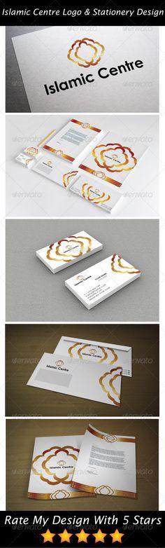 Gold Islamic Service Logo & Stationery Design
