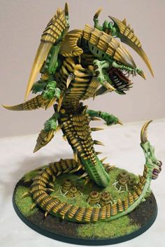 Wow... this Trygon really looks frightening. Fantastic job.