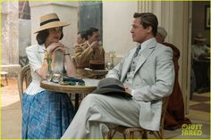 Brad Pitt & Marion Cotillard: 'Allied' First Look Photo Revealed! | Brad Pitt and Marion Cotillard are in character as intelligence officer Max Vatan and French Resistance fighter Marianne Beausejour in this first look photo from their upcoming movie Allied!