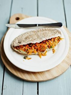 Crunchy carrot pittas | Jamie Oliver | Food | Jamie Oliver (UK)