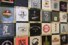 Our T-Shirt quilts photo gallery offers lots of inspiration to help you design a T Shirt quilt of your very own. Includes a link to T-shirt quilt instructions.