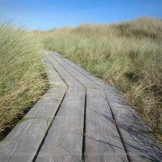 Path to the beach I - Coastal Fine Art Photography - 20x20cm / 8''x8'' - Seaside - Beach - Dunes - Wooden path - Sweden. €18,00, via Etsy.