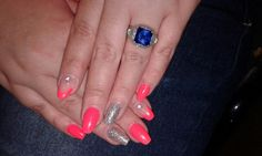 Love my nails! How To Do Nails, My Nails, My Love, Rings, Jewelry, Jewlery, Jewerly, Ring, Schmuck