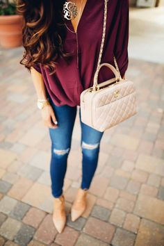 2. DATE NIGHT (a): this outfit is perfect for a date night it's cute, comfortable, and the gold accessories tie it all together.