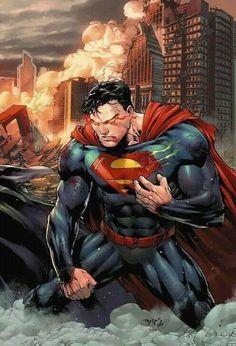 Ed Benes cover art for Batman and Superman Superman Artwork, Superman Wallpaper, Batman Vs Superman, Superman Stuff, Superman Man Of Steel, Superman Wonder Woman, Comics Anime, Univers Dc, Arte Dc Comics