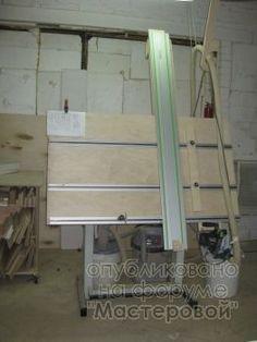 Раскройный стол-кульман Robtron-Festool аля MFT3