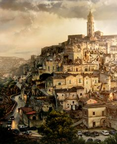 Dreamers can't be tamed - Matera Italy Italy Vacation, Italy Travel, Best Places To Travel, Places To See, 10 Days In Italy, All About Italy, Surrealism Photography, Paradise On Earth, Southern Italy