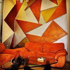 Muros en relieve decorativos, estilo MABUL.