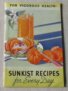 Vintage cookbooks are always so inspiring for me. This one, published in 1935