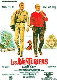 Les Aventuriers 1967 Director: Robert Enrico Stars: Alain Delon, Lino Ventura and Joanna Shimkus