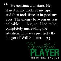 Beautiful Player - he can stare at me all he wants! Beautiful Player, Beautiful Series, Beautiful Boys, I Love Books, Books To Read, My Books, Player Quotes, Personalized Books, Book Boyfriends