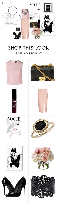 """Луки от Анютки"" by rav-love on Polyvore featuring мода, Simone Rocha, NYX, C/MEO COLLECTIVE, Blue Nile, Oliver Gal Artist Co., Diane James и Dolce&Gabbana"