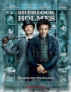 Sherlock Holmes (2009) Robert Downey Jr., Jude Law, Rachel McAdams, Mark Strong