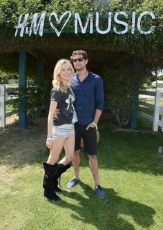 Diane Kruger and Joshua Jackson - Coachella 2013 - Day 2