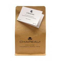 Chapeau! Crank Coffee - Roasted Beans,  250g