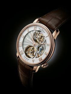 BASELWORLD 2013   Blancpain presents the Tourbillon Carrousel : an original combination and a fascinating kinetic contrast.