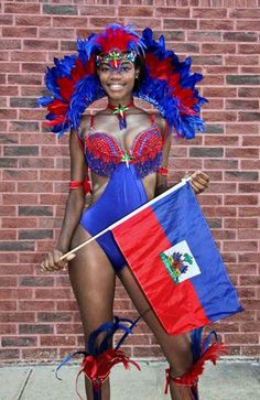 New mas band Ayiti Dous (Sweet Haiti) #LaborDay2013 #Brooklyn