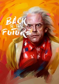 Dr Emmett Brown poster by from collection. By buying 1 Displate, you plant 1 tree. Painting Prints, Wall Art Prints, Poster Prints, Painting Canvas, Canvas Wall Art, Canvas Prints, Back To The Future Tattoo, Future Wallpaper, Movie Posters