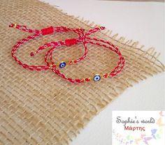 Οι 21 καλύτερες εικόνες του πίνακα Martis bracelets -Μαρτάκια 52ff5277f9a