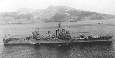Light cruiser USS Phoenix - after escaping Pearl Harbor she survived WW2, only to be sunk as the Argentine General Belgrano by the British submarine HMS Conqueror during the Falklands War of 1982.