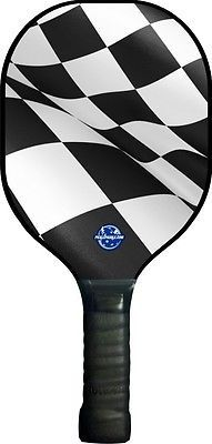 Other Tennis and Racquet Sports 159135: R1 Pickleball Paddle -New Racing Flag Picklepaddle Usapa BUY IT NOW ONLY: $36.95