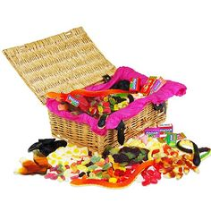 Personalised Retro Jellies Sweet Hamper  from Personalised Gifts Shop - ONLY £34.95