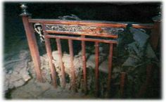Double bed deep inside Titanic
