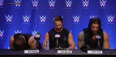 The Shield discusses their match with Evolution at WWE Payback #WWEPayback  https://www.facebook.com/wrestlesite