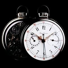 #tbt chronograph with foudroyante second pocket watch. Circa 1880 allowing to time 1/4th of a second! #girardperregaux museum collections. #chronograph #craftsmanship #wotd #watchhistory #watches #watchgeek #watchnerd #watchmaking #tradition #timepieces #uhr #uhren #часы #reloj #relogio #orologi #horology #horlogerie #hautehorlogerie #swisswatch #swissmade #chronographe