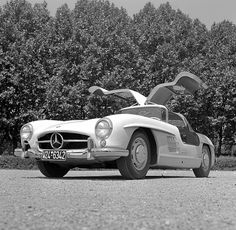 Mercedes 300sl. My favourite car of all time... One day.
