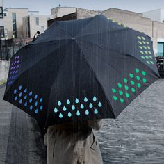Color Changing Umbrella  by SUCK UK