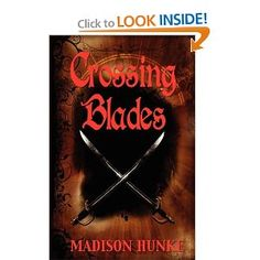 Crossing Blades | Madison Hunke. This is a wonderful book written by a high school student from Ames. It is a satisfying page turner!