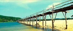 Cầu ông Cọp - Cầu gỗ dài nhất Việt Nam  #Vietnam #Travel #PhuYen #Bridge