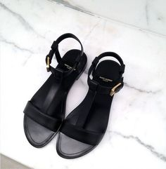 black/sandal