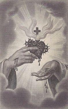 SC_19 Jesus Predicando, Heart Of Jesus, Rosary Mysteries, Jesus Reyes, Catholic Art, Religious Art, Jesus Second Coming, Jesus E Maria, Vintage Holy Cards