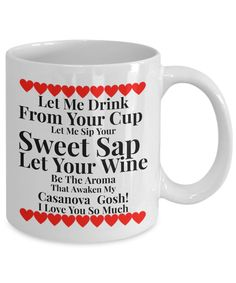 Coffee Mug For Wife - The Gosh! Collection Gifts for Valentines, Birthdays, Special Occasions: Heartfelt Greetings of Love and Admiration